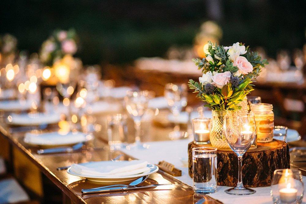 reception gorgeous table sunshine beach noosa